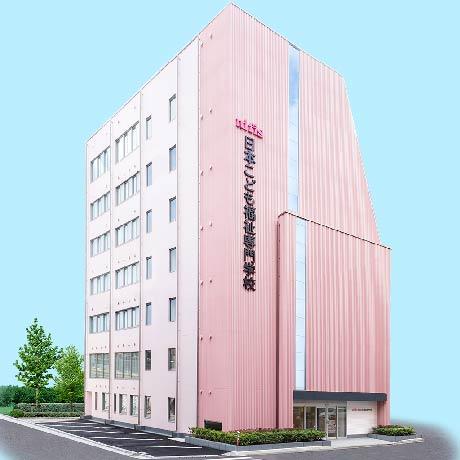 日本こども福祉専門学校の外観